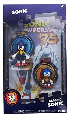 TOMY Sonic Collector Series 2Figura Confezione con Comic