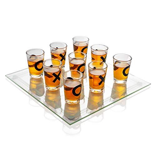 Maxam SPTTT Party Shot Glass Tic Tac Toe...