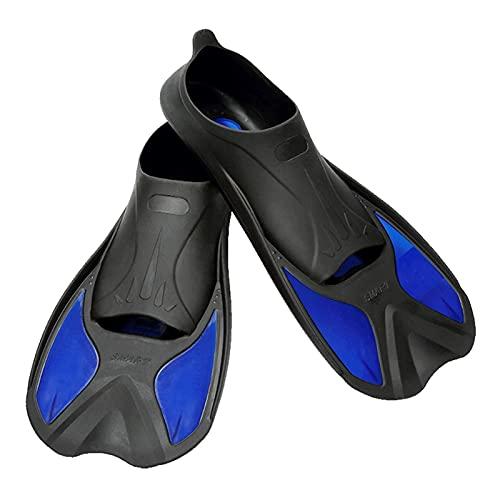 XJZM Aletas de natación, Aletas de Snorkel, Aletas de Buceo, Aletas de Buceo Antideslizantes portátiles, Equipo de Deportes acuáticos para Principiantes para Adultos (Color : Violet, Size : 44 to 45)