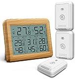 Yuan Ou Hygrometre Interieur Hygromètre Thermomètre Thermomètre LCD numérique Intérieur...