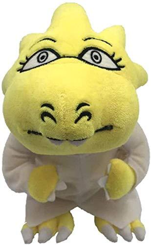NC56 Undertale Alphys Plush Toy Doll 25Cm Dreemurr Sans Frisk Chara Temmie Soft Stuffed Toy for Kids Children Gifts
