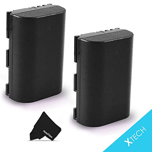 2 LP-E6 Batteries for Canon EOS 7D Mark II 6D Mark ii 80D EOS 5D 6D 7D 60D 60Da 70D EOS 5D Mark II EOS 5D Mark III XC10 DSLR Cameras