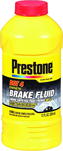 Prestone AS800Y DOT 4 Synthetic Brake Fluid - 12 oz.