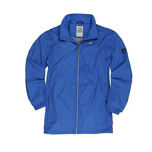Brigg Funktions-Regenjacke blau erhältlich in Großen Größen bis 10XL, Größe:3XL