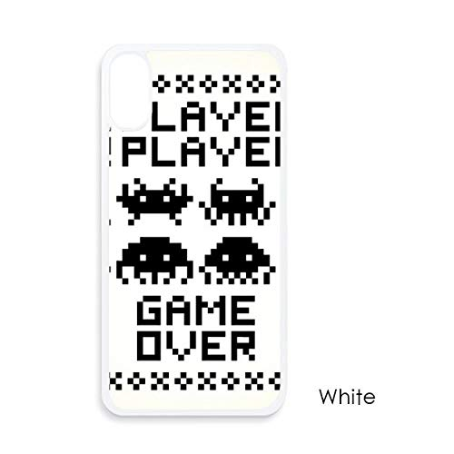 beatChong Spelers Game Over Little Monster Pixel Voor iPhone X Cases Witte Phonecase Apple Cover Case Gift