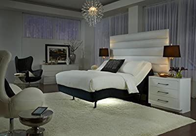 "Legett & Platt! Prodigy Comfort Elite Adjustable Bed Base with 15.5"" AtlantisBreeze Gel Memory Foam Mattress by Dynasty Mattress (Split King w/Setup)"