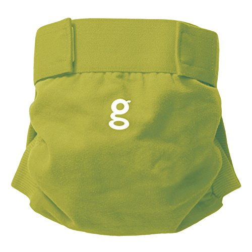 gDiapers - Culotte Little gPant - Guppy Green - Small