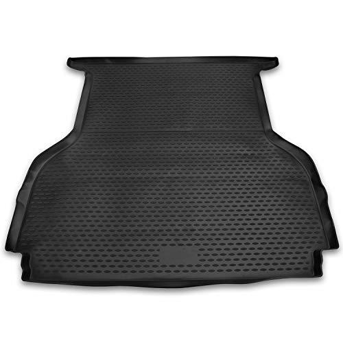 J&J Automotive - Alfombrilla para maletero de goma compatible con Ranger doble cabina 04/2011-pres 3D TPE especial