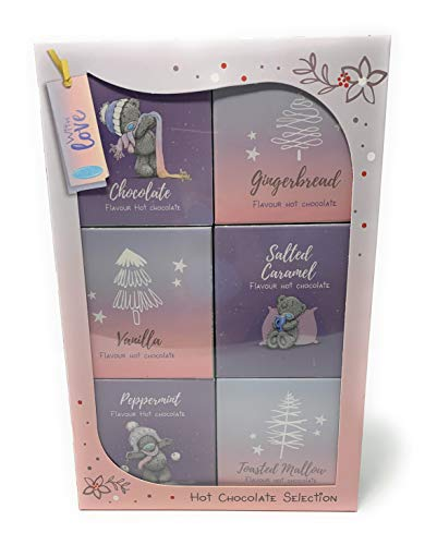 Me to You Tatty Teddy Hot Chocolate Selection Set regalo istantaneo per mix di cioccolata calda