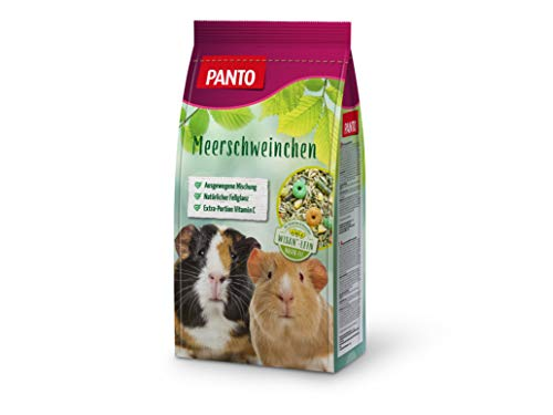 Panto - Mangime per porcellini d'India, 2,5 kg, confezione da 4 (4 x 2,5 kg)