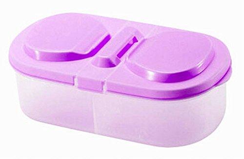 set de 3 céréales/collations bacs de stockage boîtes alimentaires