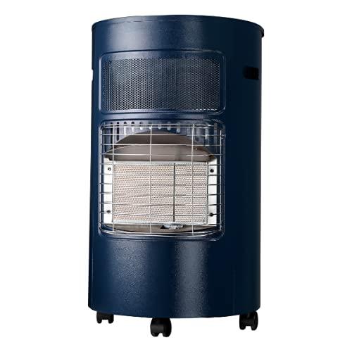 Favex - Chauffage d'appoint à gaz Ektor Design - Intérieur - Brûleur Infrarouge - 3 Puissances de Chauffe -jusqu'à 40 m² - Blue