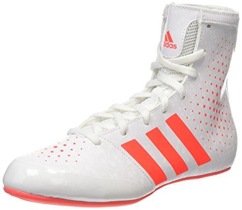 adidas adidas Ko Legend 16 2, Unisex-Erwachsene Boxschuhe, Weiß (White/Coral), 36 EU
