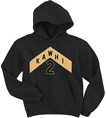 Black Toronto Kawhi The North Jersey Logo Hooded Sweatshirt Youth