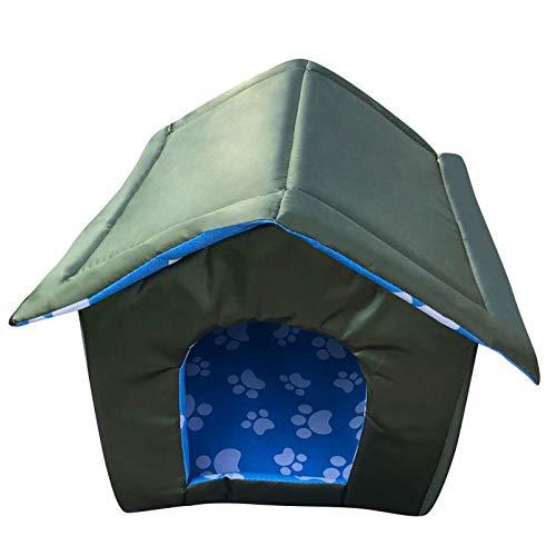 Katzenhöhle für draußen, Bett für Haustiere, wasserdicht, dick, Katzenhaus, Warmes Unterstand für Katzen und Hunde