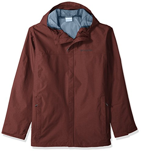 Columbia Herren Big and Tall Diablo Creek Rain Shell Regenjacke, Elderberry, Large Hoch