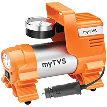 myTVS TI-4 Metallic Heavy Duty Car Tyre Inflator Air Compressor