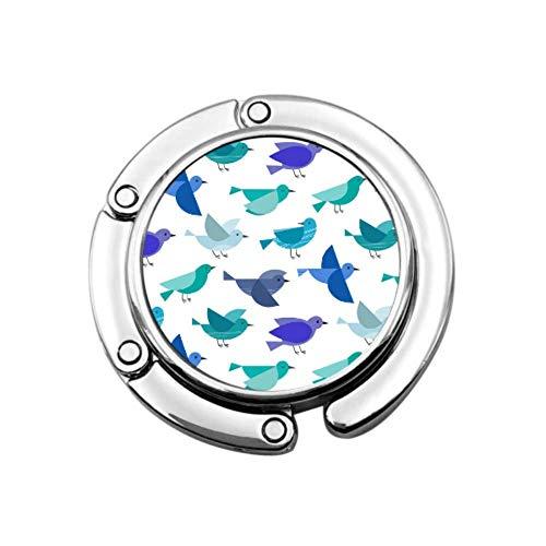 Pájaros Flying Wing Beauty Purse Colgador de Gancho de Mesa Colgador de Bolsa de Lona Plegable Diseños únicos Sección Plegable