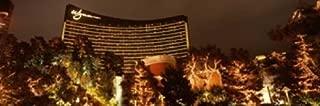 Posterazzi Hotel lit up at Night Wynn Strip Las Vegas Nevada USA Poster Print (18 x 6)