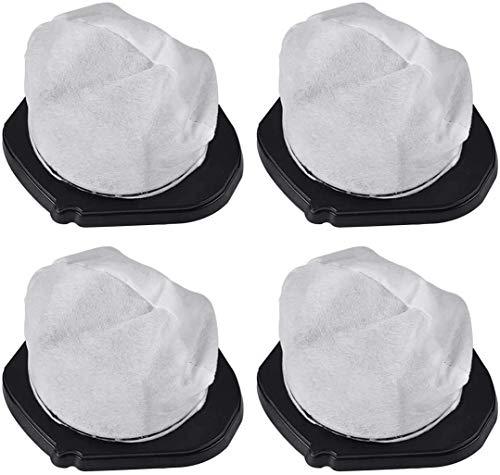 De Galen Almohadillas de repuesto lavables para mopa de vapor Shark S3500 Series S3550 S3501 S3601 S3601D S3801 S3901 S3901D SE450 accesorios para aspiradora (tamaño : 4 SV780)