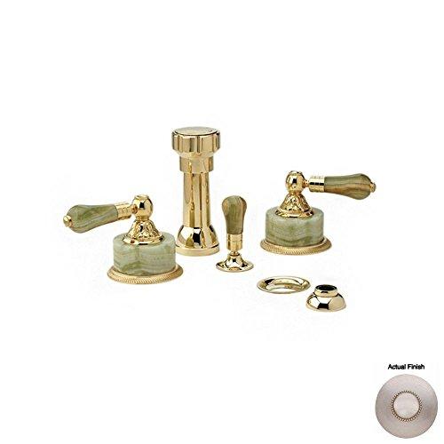 Find Discount Phylrich K4240_015 - Versailles Four Hole Bidet Set W/Vertical Spray, Green Onyx Handl...