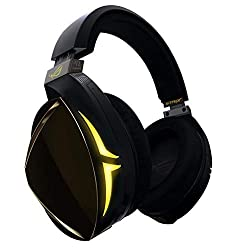 Bluetooth 4.2 for chatting with tea mmates via VoIP or phone call, or even listening to music while gaming on PC, PS4 Hi-fi-grade ESS ES9018 DAC and SABRE9601K amp deliver realistic, unparalleled gaming audio Finely tuned ASUS Essence drivers and exc...