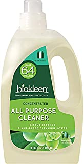 Biokleen Natural All Purpose Cleaner - Makes 64 Gallons - Super Concentrated, Eco-Friendly, Non-Toxic, Plant-Based, No Art...