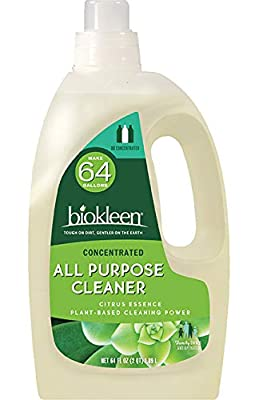 Biokleen Natural All Purpose Cleaner - Makes 64 Gallons - Super Concentrated