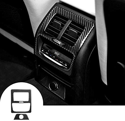 HOTRIMWORLD Max 50% OFF Carbon Fiber Inner Console Air Cove Rear Vent Outlet security