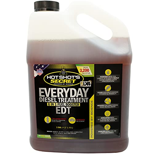 Hot Shot's Secret - HSSEDT01G Everyday Diesel Treatment - EDT 1 Gallon - Treats Up to 3,200 Gallons