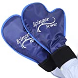 2 Wrist Hand Hot Cold Ice Pack Wraps - High Amount of Gel for High Efficiency - Perfect for Chemo