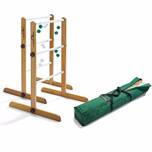 Ladder Golf doppio Torneo gioco, 2set di bolas (Verde, Bianco)