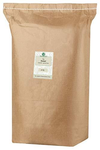 Chiemgaukorn Bio Dinkel Ganzes Korn 25 kg, Urdinkel