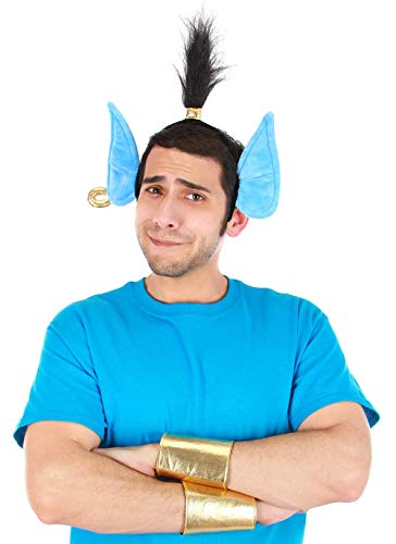 The Disney Aladdin Genie Headband & Cuffs Kit Standard Blue