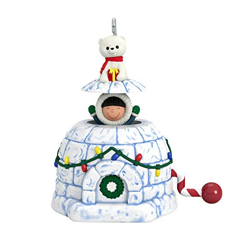 Price comparison product image Hallmark Keepsake Mini Christmas 2019 Year Dated Frosty Surprise Miniature Ornament
