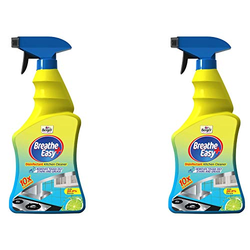 Berger BreatheEasy 500ml Disinfectant Kitchen Cleaner (Pack of 2)