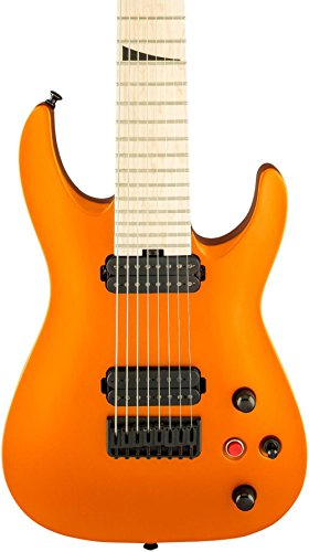 Jackson Pro Dinky DKA8 Electric Guitar Satin Orange Blaze