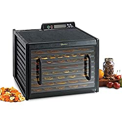 Excalibur 3948CDB 9 Tray Food Dehydrator, Black - click to see it on Amazon
