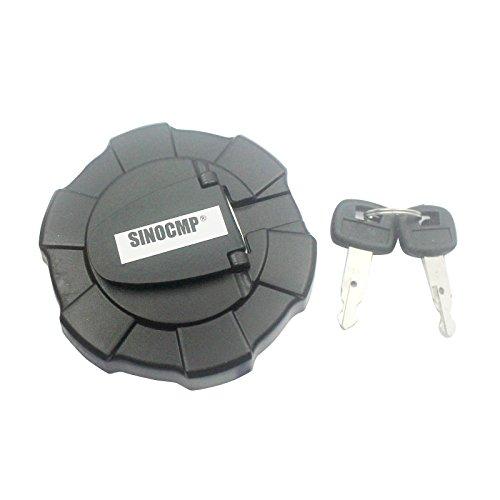 sinocmp 2clave tapa del depósito de combustible Ass 'y para Kubota Locking Fuel Cap excavadora partes, 3Meses de Garantía)