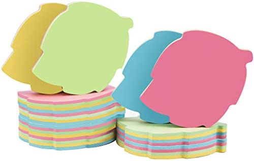 Leaf Sticky Notes 1000 Sheets Mixed 4 Color Bulk Sale Sticky Memo Post Memo Note Tape Self Stick product image