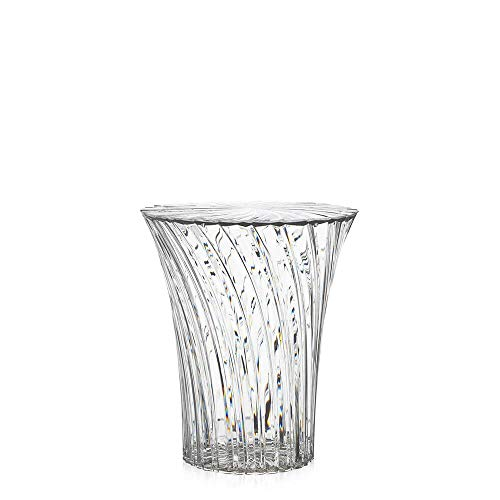 Kartell Sparkle Haut table basse transparent cristal