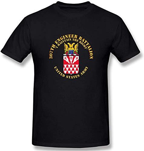 COA - 307e ingenieur bataljon - ik onderhoud mannen katoen prestaties basic korte mouw T-Shirt