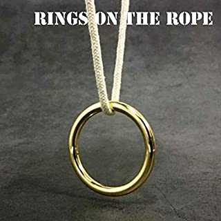 Rings on The Rope Magic Tricks Ring Renetrates Rope Magic Escape Illusion Magician Stage Gimmick Accessories Mentalism
