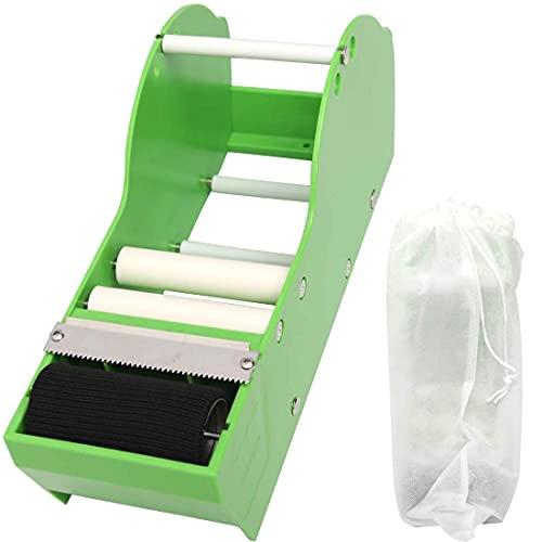 WELSTIK Dispensador manual de cinta de papel engomado, color verde
