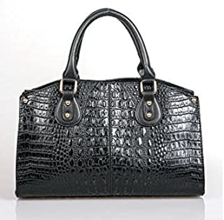 Best black croc handbag Reviews
