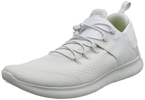 Nike Herren Free RN Commuter 2017 Laufschuhe, Grau (Vast Grey/White), 42 EU