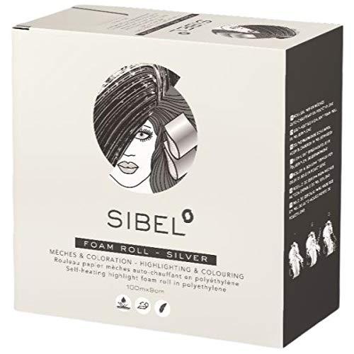 Sibel - Papiers Meches Silver Rouleau 100 M X 9 Cm