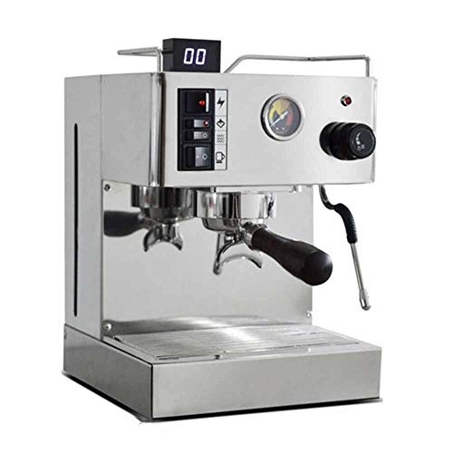 Read About MA Espresso Coffee Machine Business Push-Button Operation LED Lights Digital Display 9bar...