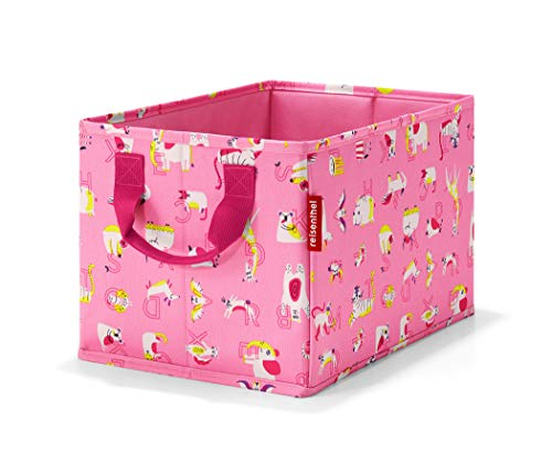 Reisenthel storabox kids cats and dogs roze toilettas, 34 cm, 18 liter