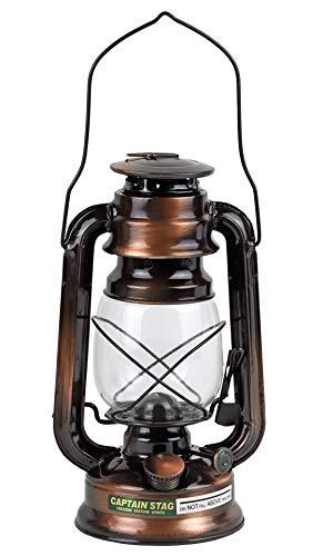 キャプテンスタッグ(CAPTAIN STAG) キャンプ 防災用 ライト 照明 ランタン 中 ブロンズM-8356